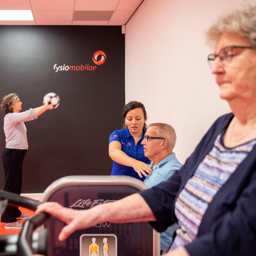 beweeggroepen en medische fitness bij Fysiomobilae