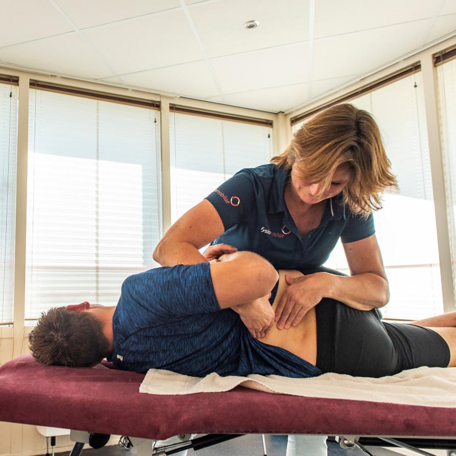 manuele therapie bij Fysiomobilae