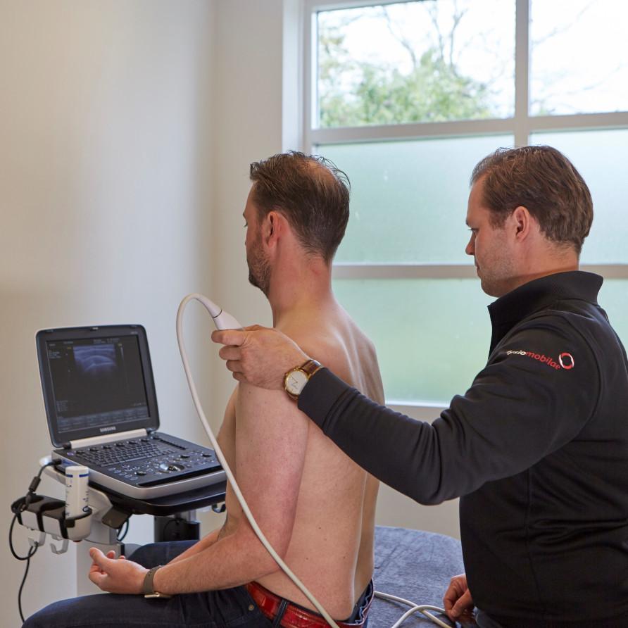 echografie als diagnostisch middel bij fysiotherapie